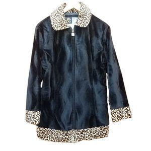 Mudd vintage 90s faux fur jacket